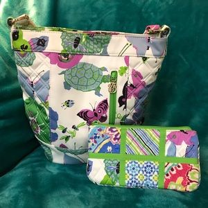 Vera Bradley Bags - Vera Bradley Limited Edition Butterfly Purse+👛
